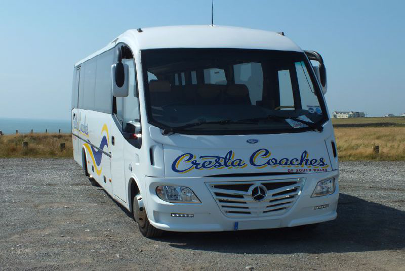 Mercedes Midi Coaches